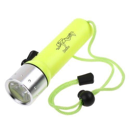 Hkbayi Cree Q5 Led 500 Lumens Waterproof 100M Diving Flashlight Torch Lamp