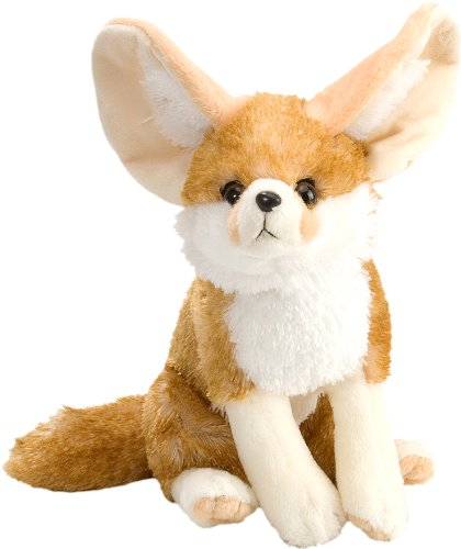 "Wild Republic Cuddlekin Fennic Fox 12"" Plush"