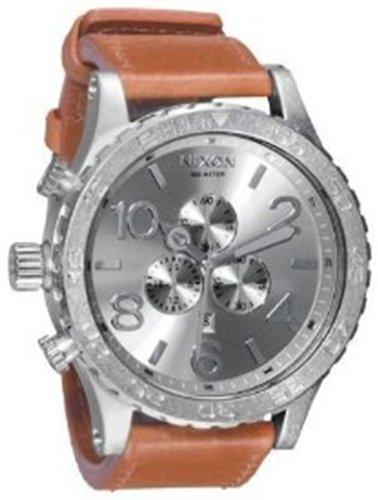 Nixon Men's 51-30 CHRONO LEATHER Watch A124-747