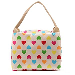 2014 Fashion Mummy Canvas Makeup Tote Handbags Baby Diaper Handbags Women Waterproof Lunch Warmer Bags (Style A)