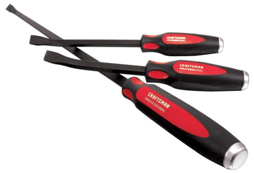 Craftsman 9-43288 Professional Curved Blade Pry Bar Set, 3-Piece