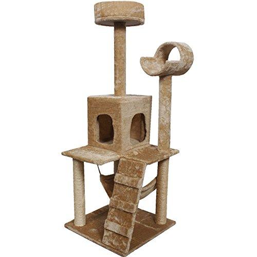52-cat-kitty-tree-tower-condo-furniture-beige