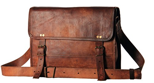 Sale!! Leather Bags Now Genuine Leather Messenger Laptop Briefcase Satchel Mens Bag