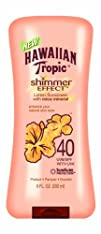 Hawaiian Tropic Shimmer Effect SPF 40 Lotion 6-Fluid Ounce
