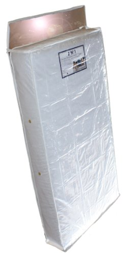 Colgate Zippered Crib Mattress Storage Bag - Waterproof Extra-Thick Clear Plastic Bag
