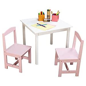 hayden kids 3 piece table and chair set baby. Black Bedroom Furniture Sets. Home Design Ideas
