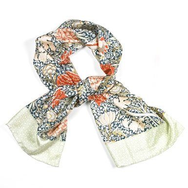 Morris 'Cray' Silk Scarf