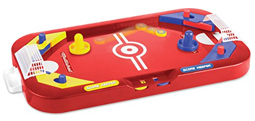 Two Player Desktop 2 in 1 Soccer and Knock Hockey Table Top Game - Classic Arcade Games Tabletop Soccer Ball Ice Hockey Shooting Fun Toys For Kids Boys Girls Adults Sports Fans by Perfect Life Ideas (Boy Toys 10 Year Old compare prices)