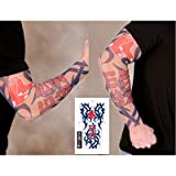 Boston Red Sox MLB Youth Fake ARM Tattoo Sleeve at Amazon.com