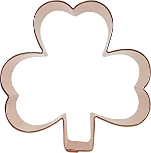 CopperGifts: Shamrock Cookie Cutter 4-inch