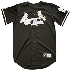 St. Louis Cardinals Licensed Majestic Yadier Molina #4 Black Limited Edition Jersey