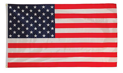 In the Breeze US Flag Grommet Flag, 3 by 5-Feet