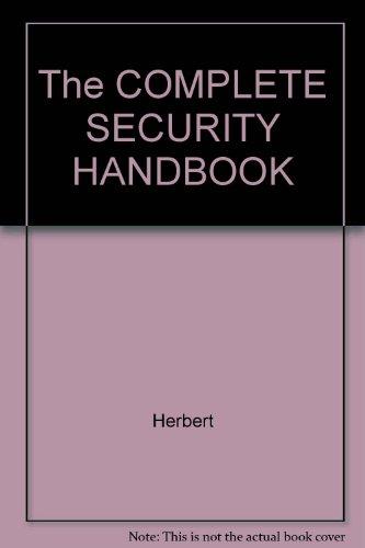 The COMPLETE SECURITY HANDBOOK PDF