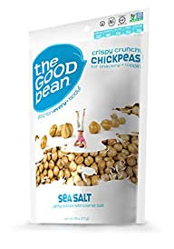 The Good Bean Chickpea Snack-Sea Salt…