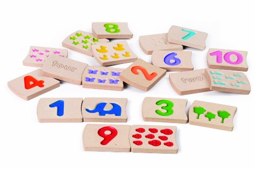 Plan Toys Numbers 1-10 Tiles (Plan Toys Numbers compare prices)