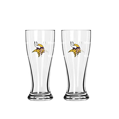 NFL Minnesota Vikings Mini Pilsners, 2.5-ounces, 2-Pack