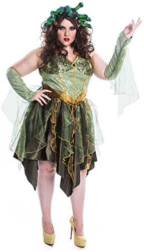 Buy Seasons - Medusa Adult Plus Costume - Plus