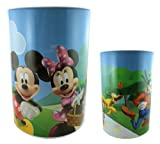 Disney Mickey & Minnie Jumbo Tin Money Bank