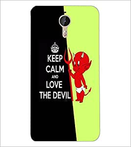 PrintDhaba Quote D-5088 Back Case Cover for LETV (LE ECO) LE 1 PRO (Multi-Coloured)