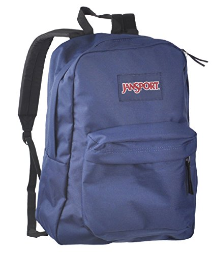 Jansport Superbreak Backpack (Navy) front-147605
