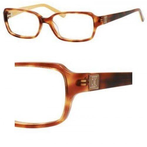 LIZ CLAIBORNE Eyeglasses 399 0DC9 Amber Havana