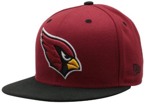arizona cardinals new era 5950 hat cardinals 59fifty cap. Black Bedroom Furniture Sets. Home Design Ideas