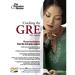 Cracking GRE 2009 from Princeton Review