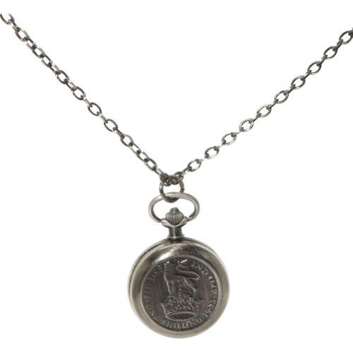 Tokyobay Shilling Locket Pendant (Silver)