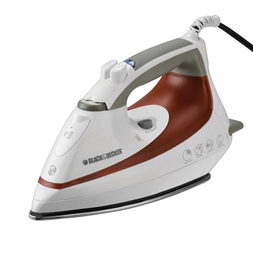how to clean black and decker iron