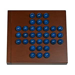 "Marble Solitaire - 5"" Travel Size"