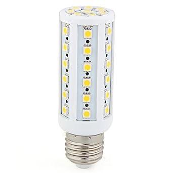 TOOGOO(R) E27 9W 44 LED 5050 SMD Mais Lampe Leuchte Leuchtmittel Birne Licht warmweiss NEU