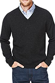Blue Harbour Extrafine Pure Lambswool V-Neck Jumper [T30-2549B-S]