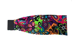 SVF Headbands (Neon Paisley, One Size)