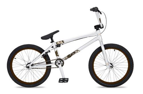 Dk Helio Bmx Bike With Brown Rims (White, 20-Inch)