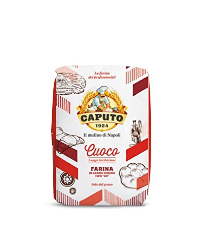 "Antimo Caputo ""00"" Chef's Flour 1 Kilo Bag Pack of 2"