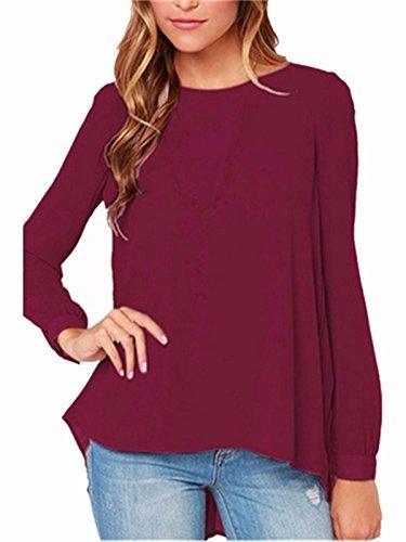 zanzea-camicia-loose-donna-rosso-rosso-vivo