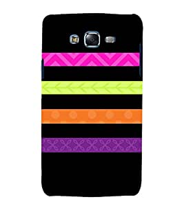 Flag Host Lines 3D Hard Polycarbonate Designer Back Case Cover for Samsung Galaxy J5 (2015) :: Samsung Galaxy J5 J500F (Old Version)