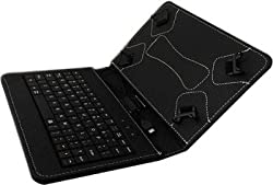 TGK Universal Leather Case Cover Stand USB Keyboard for All 7.0 inch Tablets Tablet PC
