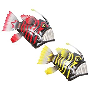 Rainbow reef battle reef angler fish by for Angler fish toy