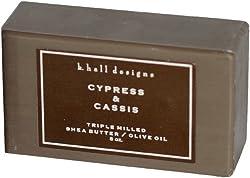 K. Hall Designs Cypress Cassis Bar Soap