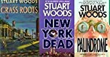 img - for Grass Roots, Palindrome & New York Dead (Stuart Woods Trio) book / textbook / text book