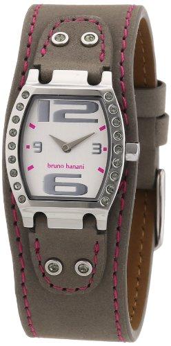 Bruno Banani Women's Quartz Watch HELIA LADIES BR21099 with Leather Strap