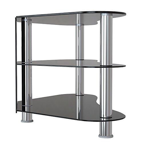 1home gt7 lcd plasma tv rack glas tisch stnder lcd rack. Black Bedroom Furniture Sets. Home Design Ideas