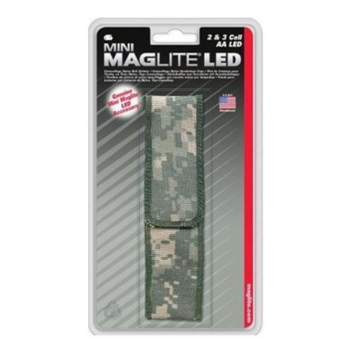 Maglite Ap2X106 Nylon, Full Flap Holster Aa, Ucp Camo