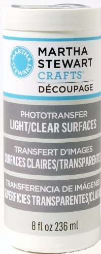 Plaid Martha Stewart Decoupage Formula For Light Or Clear Surfaces, 8-Ounce, Photo Transfer Finish front-804454