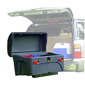 StowAway Hitch Mount Cargo Carrier with a Swing Away Frame - Black - 2 Receiver by Stow Away