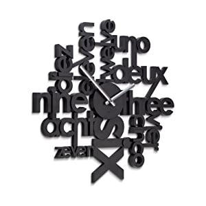 Umbra Lingua Wall Clock