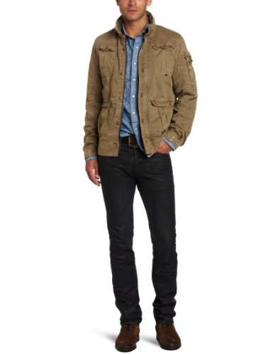 G-Star Men's Cm 4 Pocket Jacket, Lever, Medium