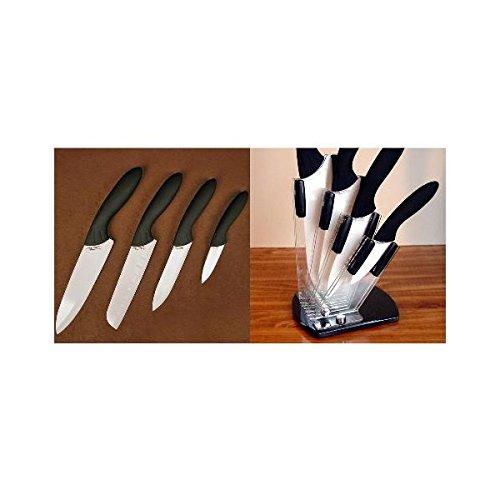 SRG Cer. Cutlery Set w/Holder White