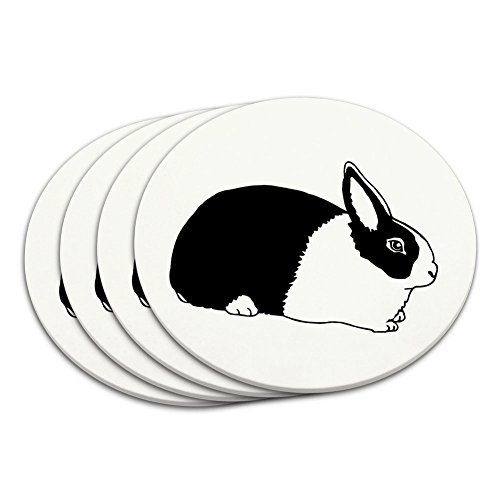 Dutch Rabbit Coaster Set